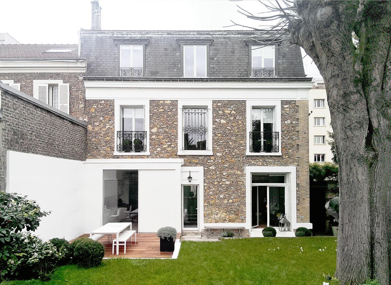 Nicolas dorval bory architectes maison jequier for Maison nicolas